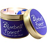 Lily Flame Bluebell Forest Tin, Purple, l x 7.7cm w x 6.6cm h