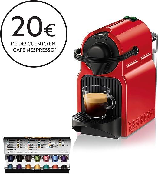 Krups XN1005 Nespresso Inissia - Cafetera monodosis de cápsulas ...