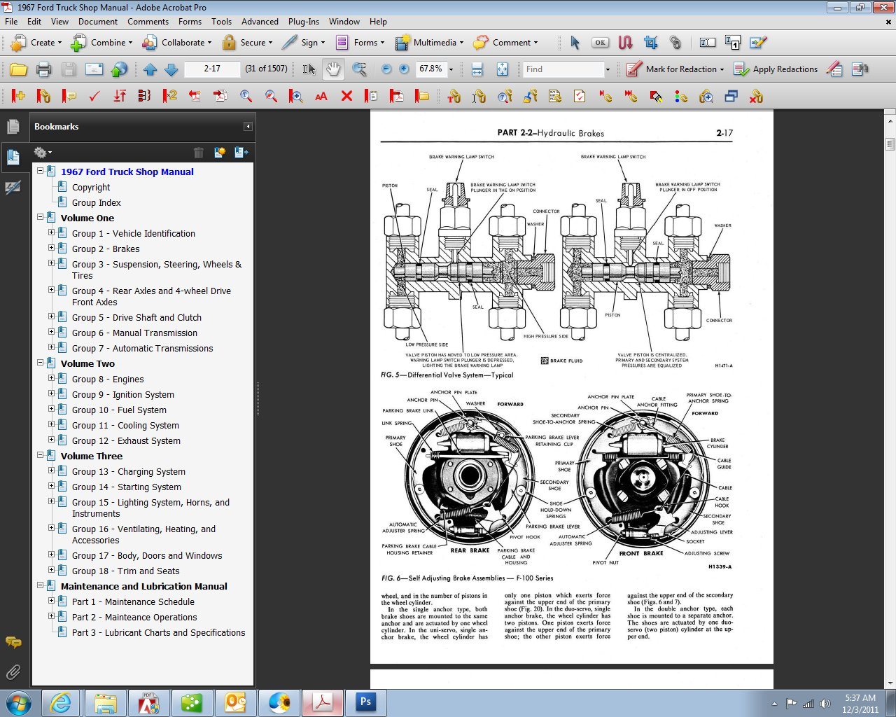 1967 Ford Truck Shop Manual Motor Company David E Leblanc F750 7 Pin Wiring Diagram 9781603710756 Books