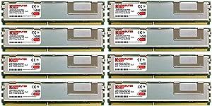 KOMPUTERBAY 16GB (8X2GB) Memory Upgrade for Dell 490 690 T7400 Precision Workstation