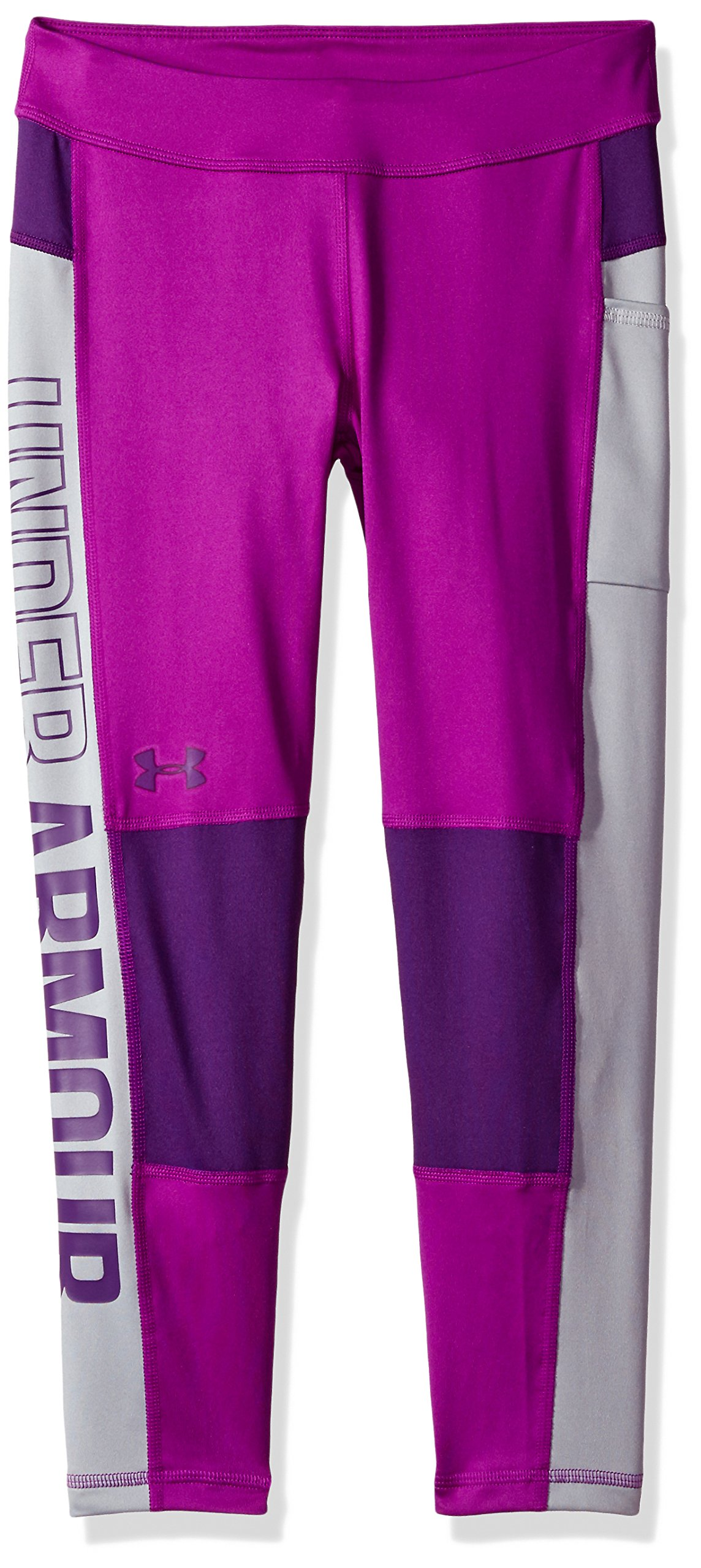 Under Armour Girls' Color Block Crop