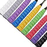 Griff Grip Tape Rolle Schweißabsorbierend Badminton Anti-Rutsch 9 Farbe