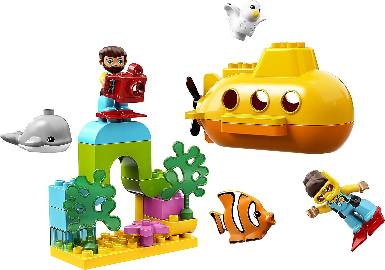LEGO DUPLO Town - Aventura en Submarino Juguete Educativo de Baño ...