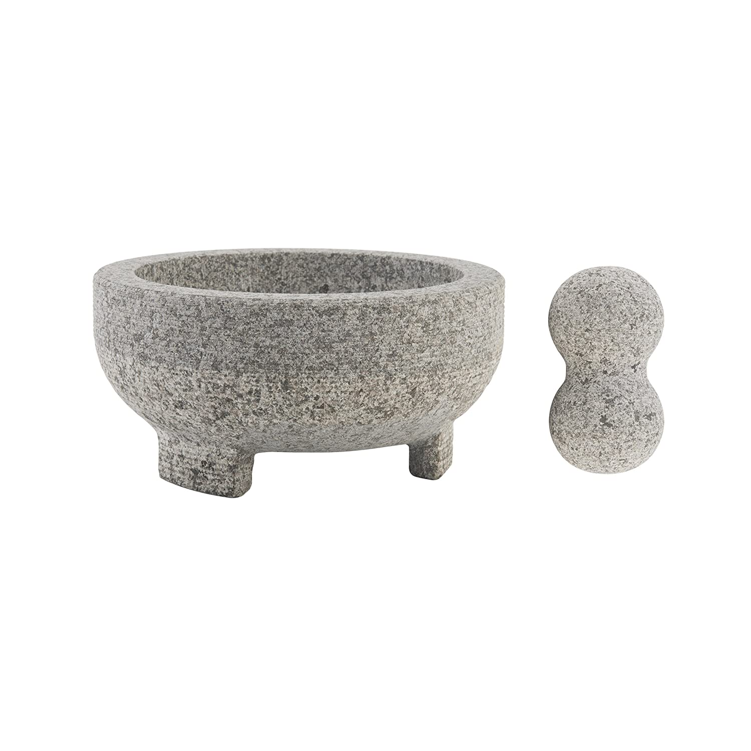 Farberware 5216415 Professional Granite Molcajete Mortar and Pestle Stone Grinder, 4-Cup