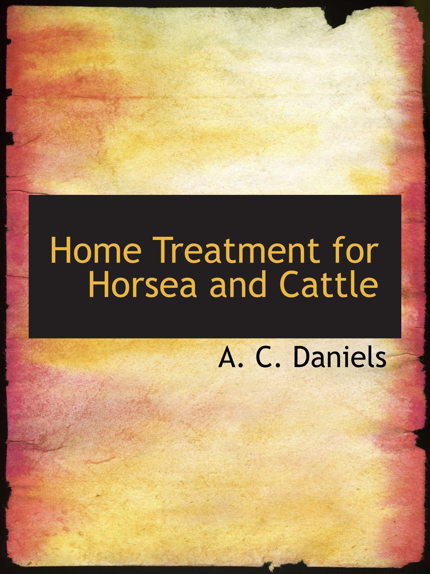 Download Home Treatment for Horsea and Cattle PDF