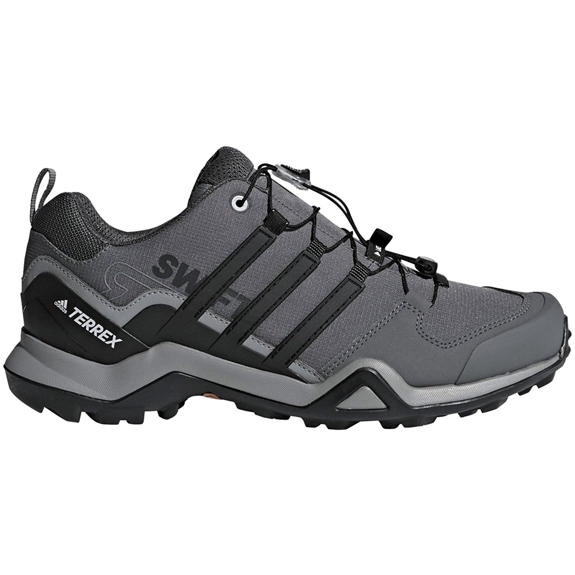adidas outdoor Terrex Swift R2 Hiking Shoe - Men's Grey Three/Black/Grey Five, 11.5