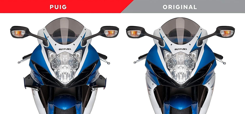 Puig Side Spoiler Downforce 3163N f/ür Suzuki GSX-R600//750 11-16