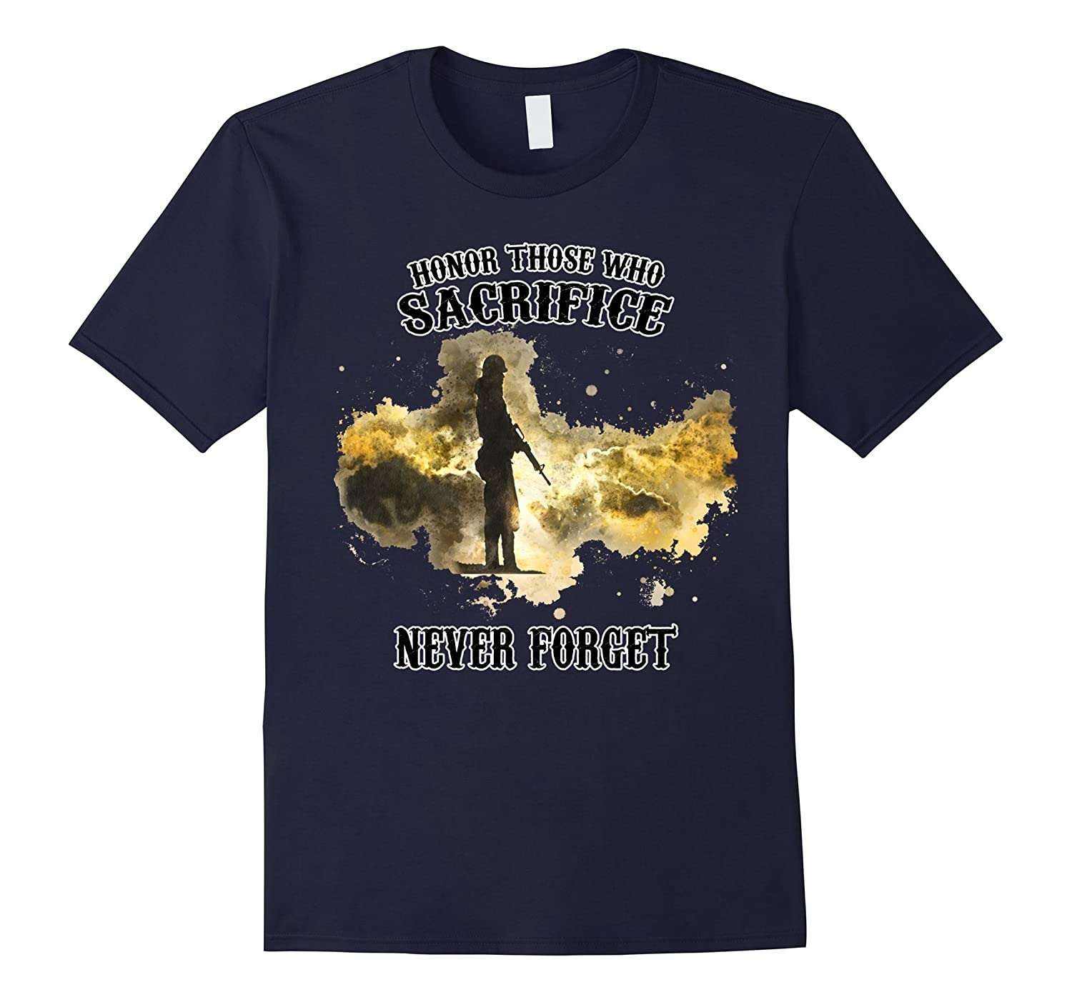 Memorial Day Tshirt - Honor Those Who Sacrifice T-shirt-CD