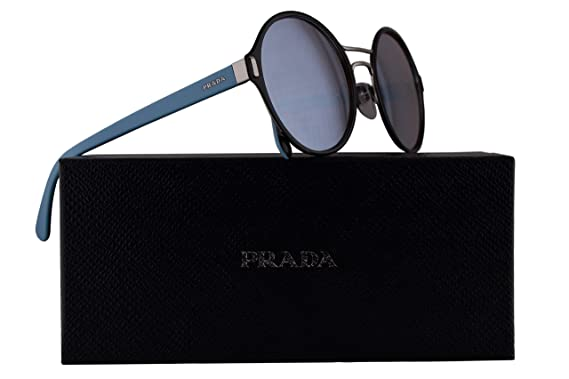 c4c76874a8e9 Image Unavailable. Image not available for. Color: Prada PR57TS Sunglasses  Black ...