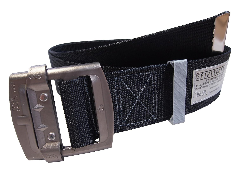 タイタン アルミバックル仕様胴ベルト安全帯「匠魂」 60mm巾 A6DA-SK-BL