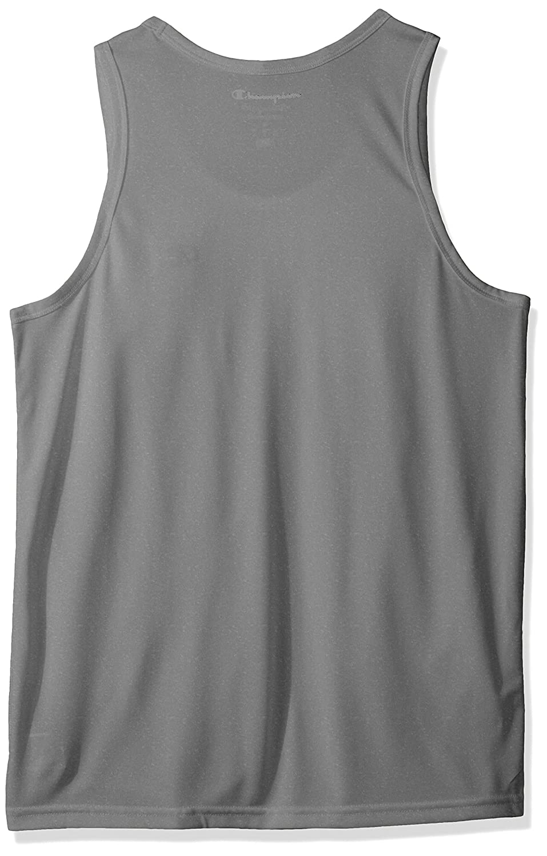 Champion Mens Vapor Heather Tank Top with FreshIQ Tank Top//Cami Shirt