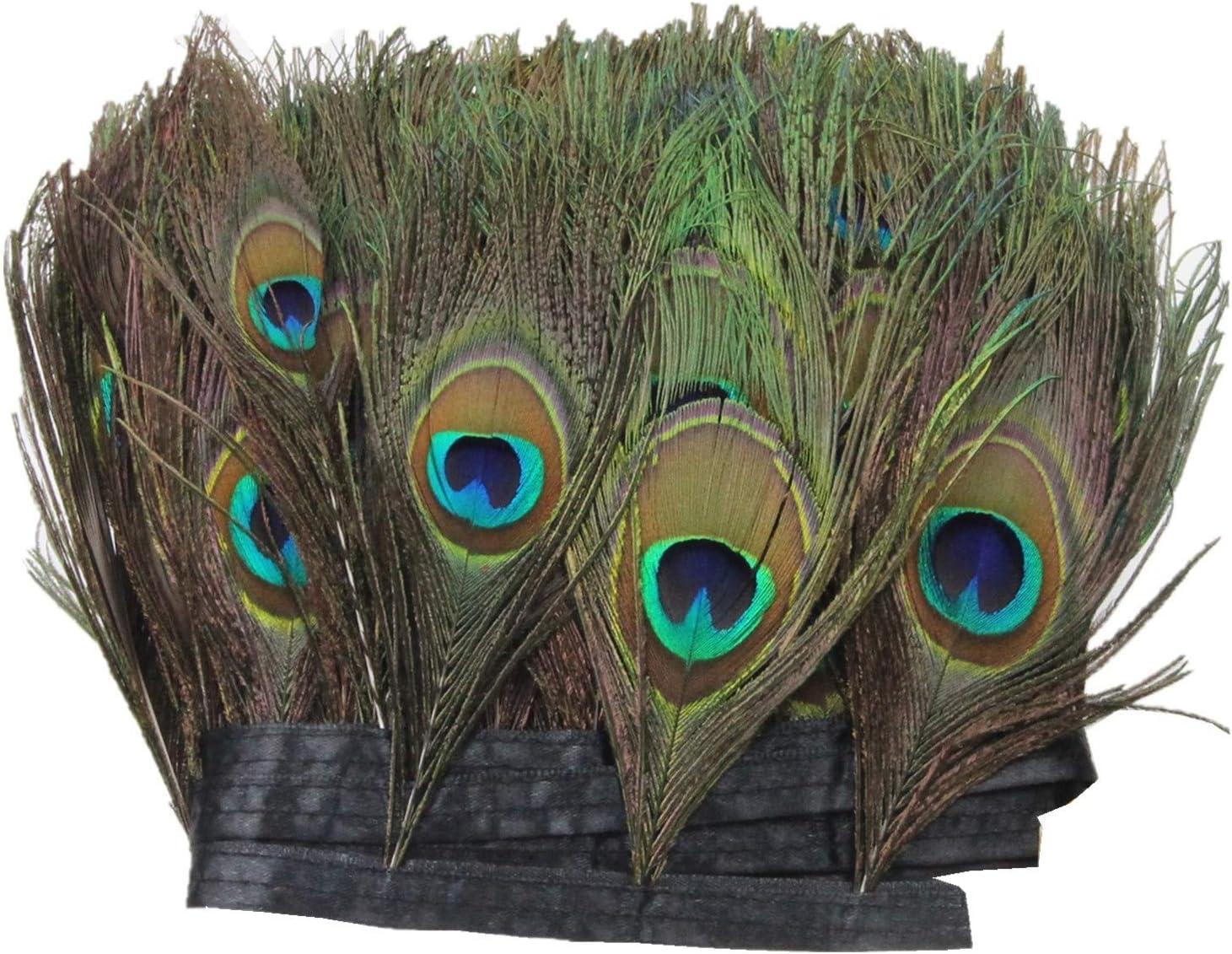 Piuma Maschera Occhi 3 piani PAVONE 2 Design Eye-Maschera Ballo In Maschera Maschera