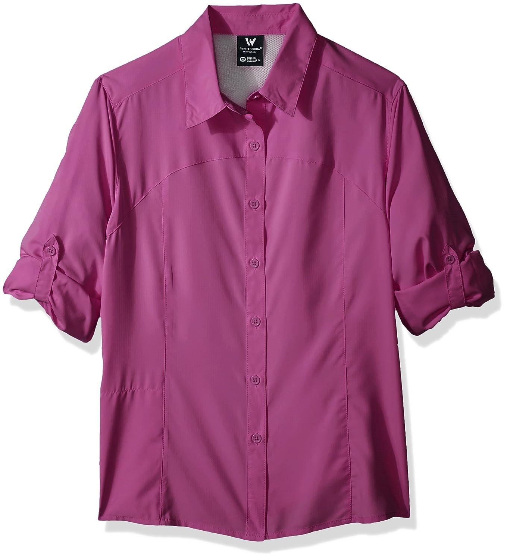 White Sierra Gobi Desert Long Sleeve Shirt - Extended Sizes X4209WX