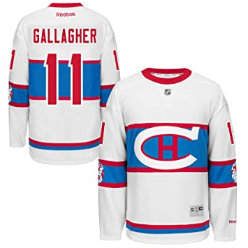 online store f5a8a 5e84d Brendan Gallagher Montreal Canadiens 2016 NHL Winter Classic ...