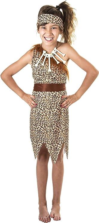 Costumizate! Disfraz de Cavernícola para niña Talla 10-12 Especial ...