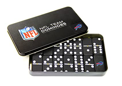 Amazon.com: NFL Buffalo Bills Domino en metal lata de regalo ...