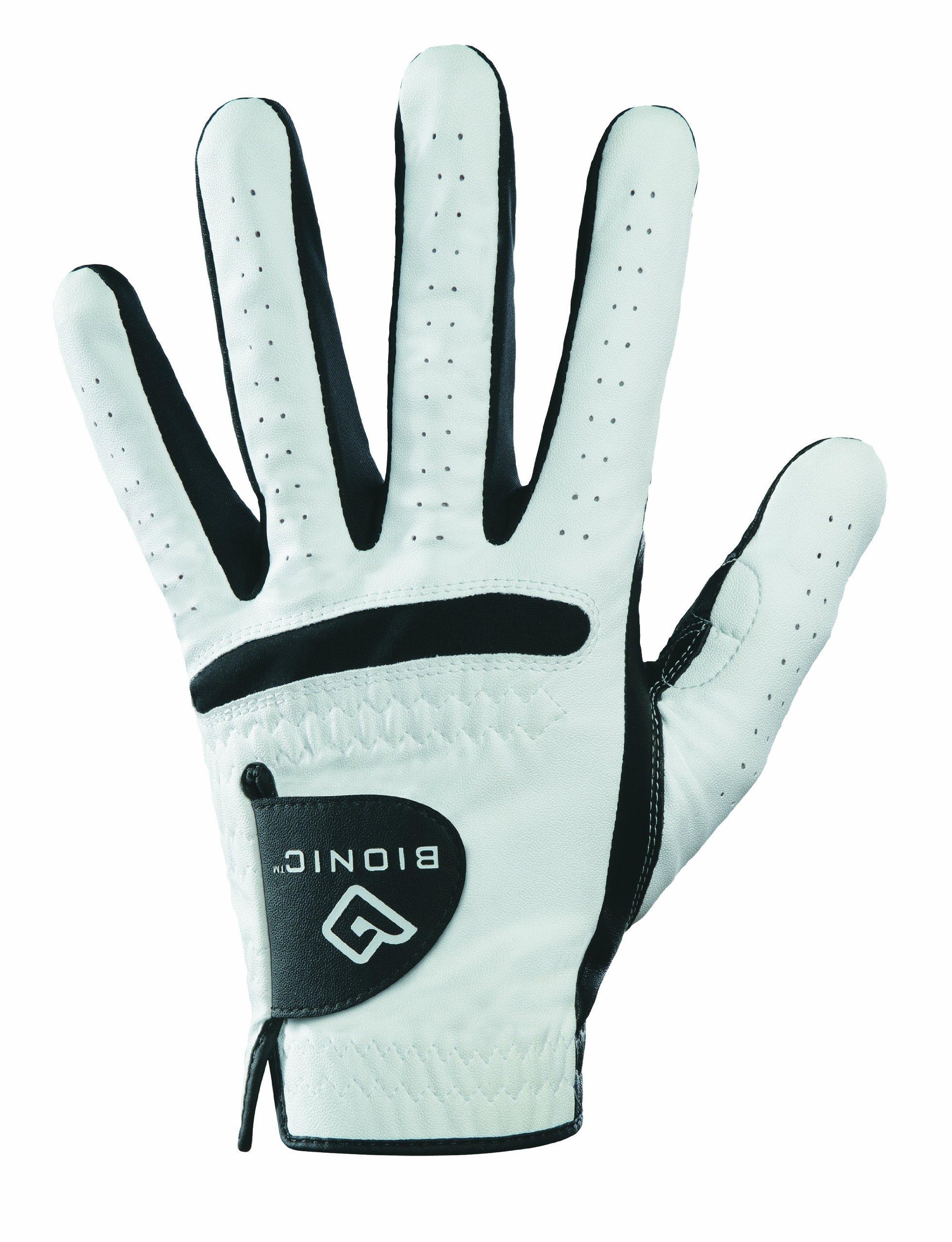 Bionic GGRMLS RelaxGrip Black Palm Golf Glove (Men's, Left Hand, Small)