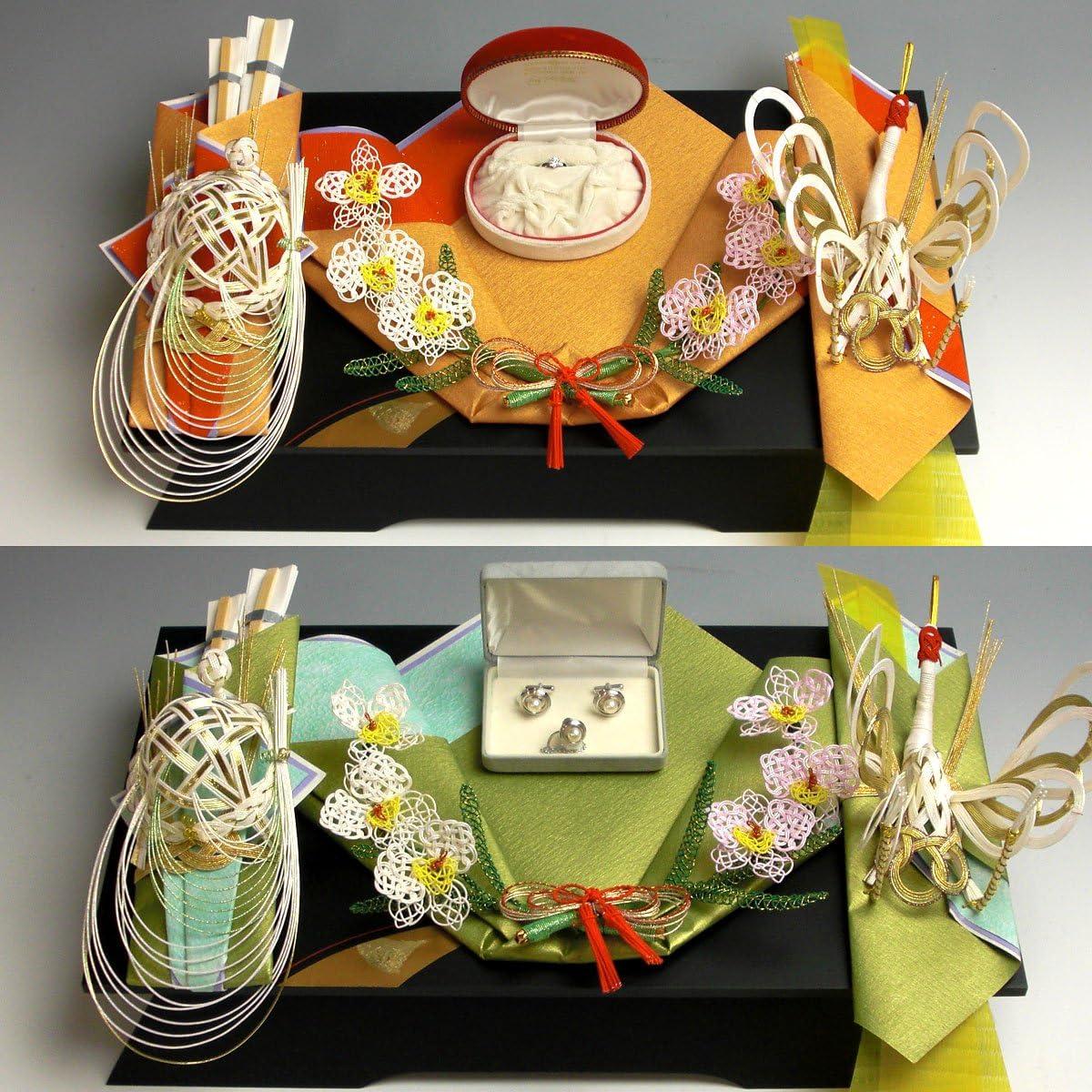 同時交換 -記念品メインの結納品-美雪記念品セット1(毛せん・風呂敷付) 結納屋さん.com r6901-01