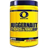 Infinite Labs Juggernaut HP Pre Workout Supplement, Wild Cherry, 60 Servings (420 Grams)