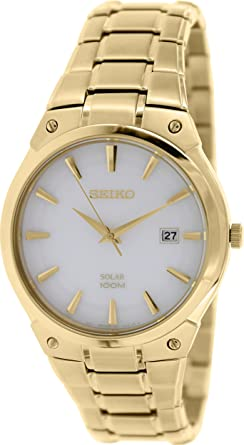 Watch Seiko Solar Sne342p1 Men´s White