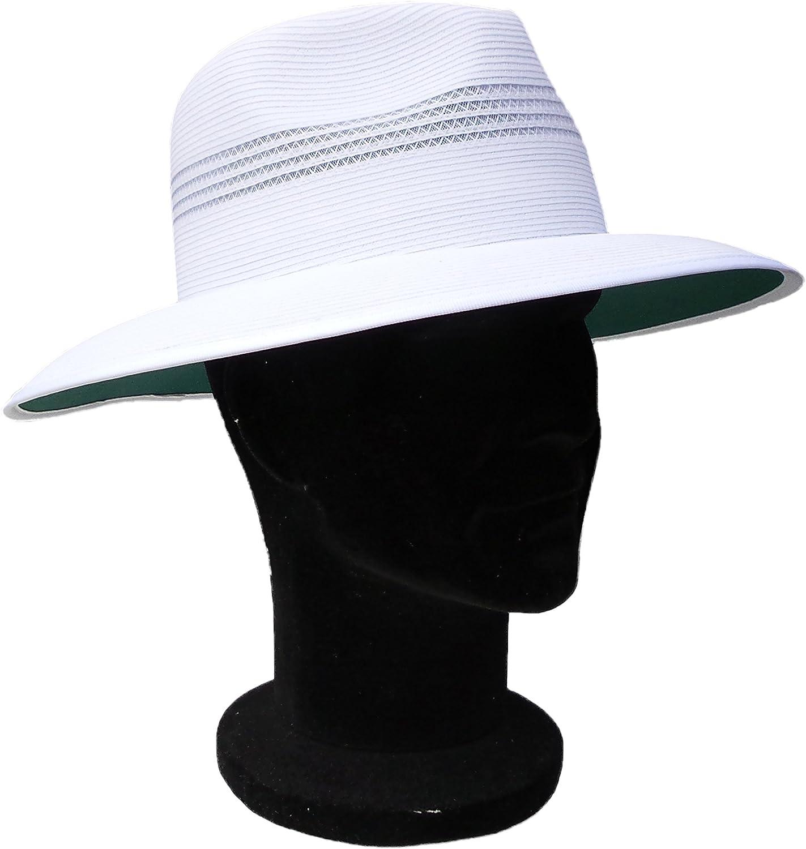 Acclaim Kalgoorlie International Cricket Umpire Summer Hat With The Stay Put Headband White