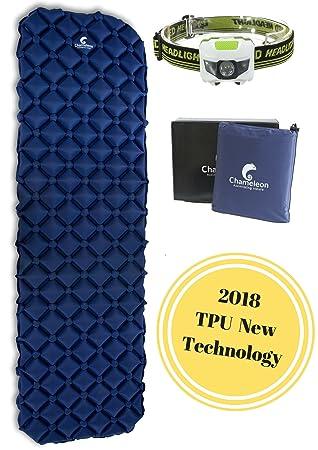 amazon com sleeping pad by chameleon durable ultralight
