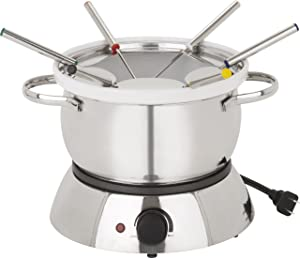 Trudeau alto 3 in 1 electric fondue set, 11-piece set