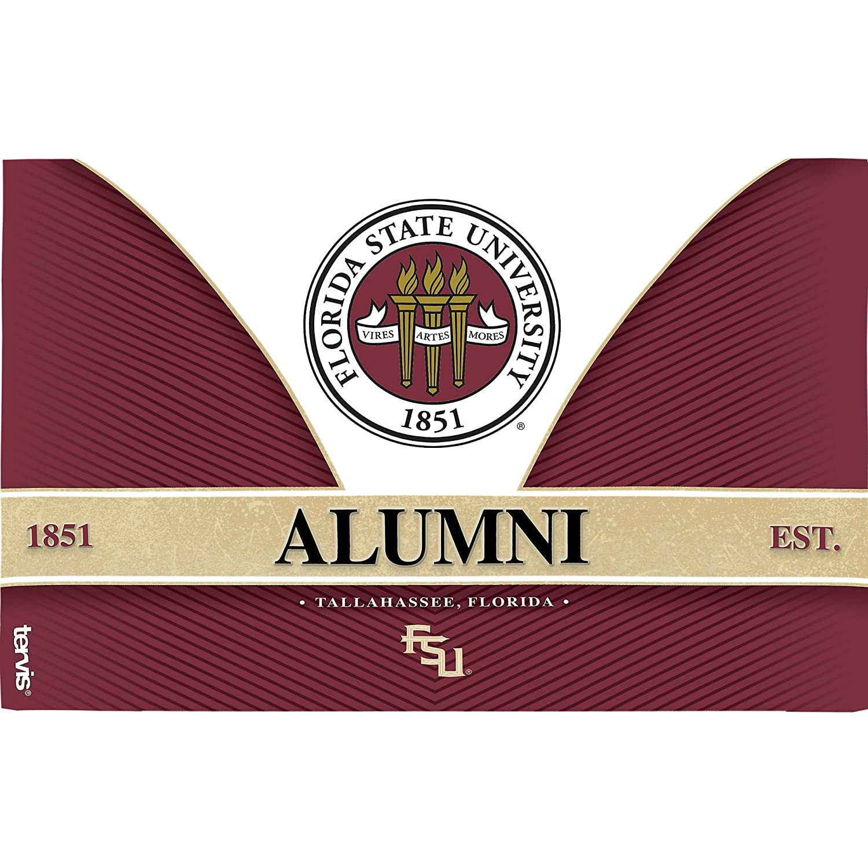 Tervis 1222649 Florida State Seminoles Alumni Tumbler with Wrap and Black Lid 24 oz Tritan Clear