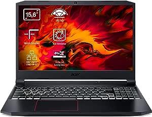 "Acer Nitro 5 Ordenador Portátil AN515-54, 15.6"" FHD ComfyView IPS LED LCD, (Intel® Core™ i5-9300H, 8GB, 512GB SSD, NVIDIA® GeForce® GTX 1650, Negro, Windows 10 Home) QWERTY Español"