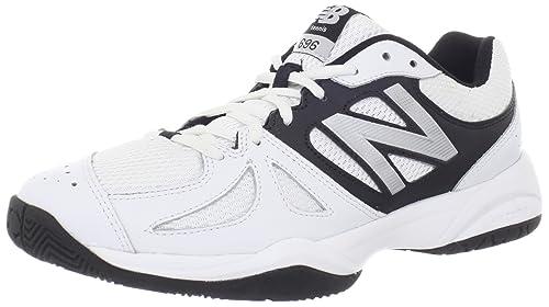 NEW BALANCE MC696 Zapatilla de Tenis Caballero, color blanco, talla 40: Amazon.es: Zapatos y complementos