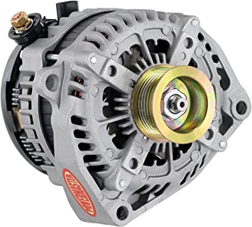 Powermaster Performance 48550 Alternator Denso Natural 245A 6 grv Pulley Escalade,C,K Series, GMC w//2 pin OE Hookup FR-L VR Hairpin Upgrade