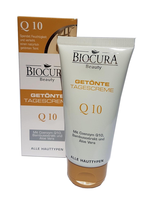 Biocura Beauty Tinted Day Cream with Q10-1.7 fl oz (50 mL)