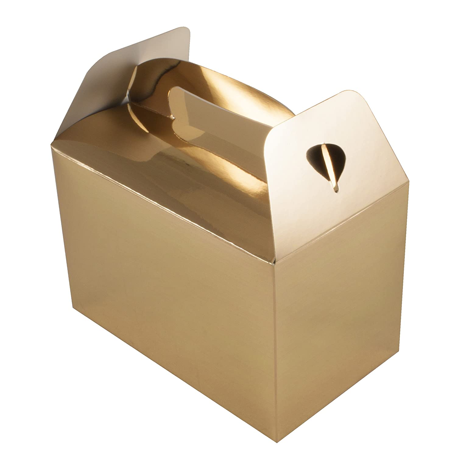 Oaktree Party Box, Carta, Oro Metallizzato, 24.6  x 20.3  x 1.8  cm 24.6 x 20.3 x 1.8 cm OA641945