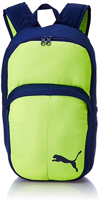 357dad0bb1d1 Puma Safety Yellow-Blue Depths Casual Backpack (7489807)  Amazon.in  Bags