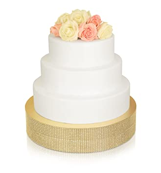 Amazoncom 4202 Rhinestone Wedding Cake Stand 12 inch Round