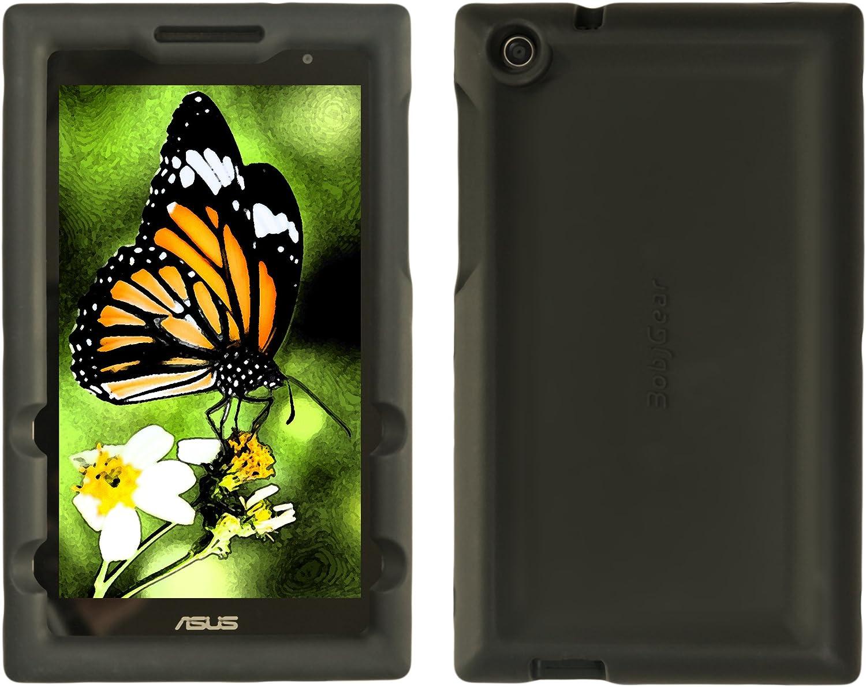 BobjGear Carcasa Resistente Para Tablet ASUS ZenPad C 7.0, Z170C, Z170CG, Z170MG, P01Z - Bobj Funda Protectora (Negro)