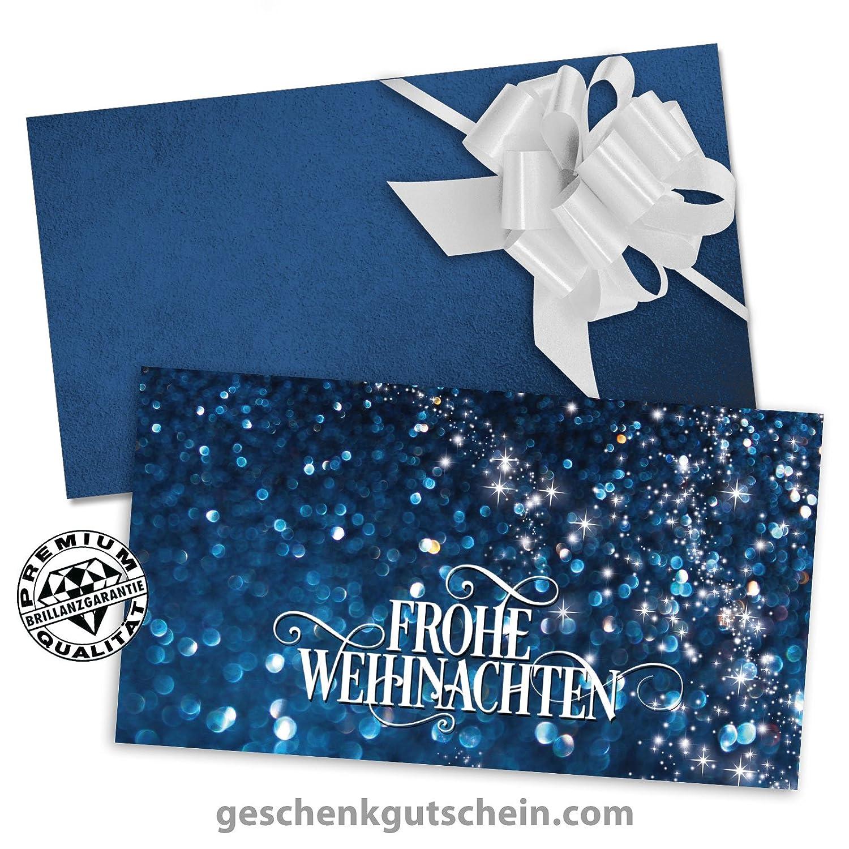 """50 Stk. Premium Weihnachts-Faltgutscheine """"MultiFarbe  + 50 Stk. KuGrüns + 50 Stk. Schleifen für alle Branchen geeignet X228, LIEFERZEIT 2 bis 4 Werktage"""