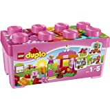 Lego - 10571 - DUPLO My First - LEGO DUPLO Scatola costruzioni rosa Tutto-in-Uno