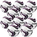 Mitre Malmo Footballs x 10 ball pack