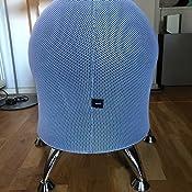 5 ChaiseSiège sitness Wellness BallTabouret Plastique Blanc Chrome Topstar ulc3T5FJK1