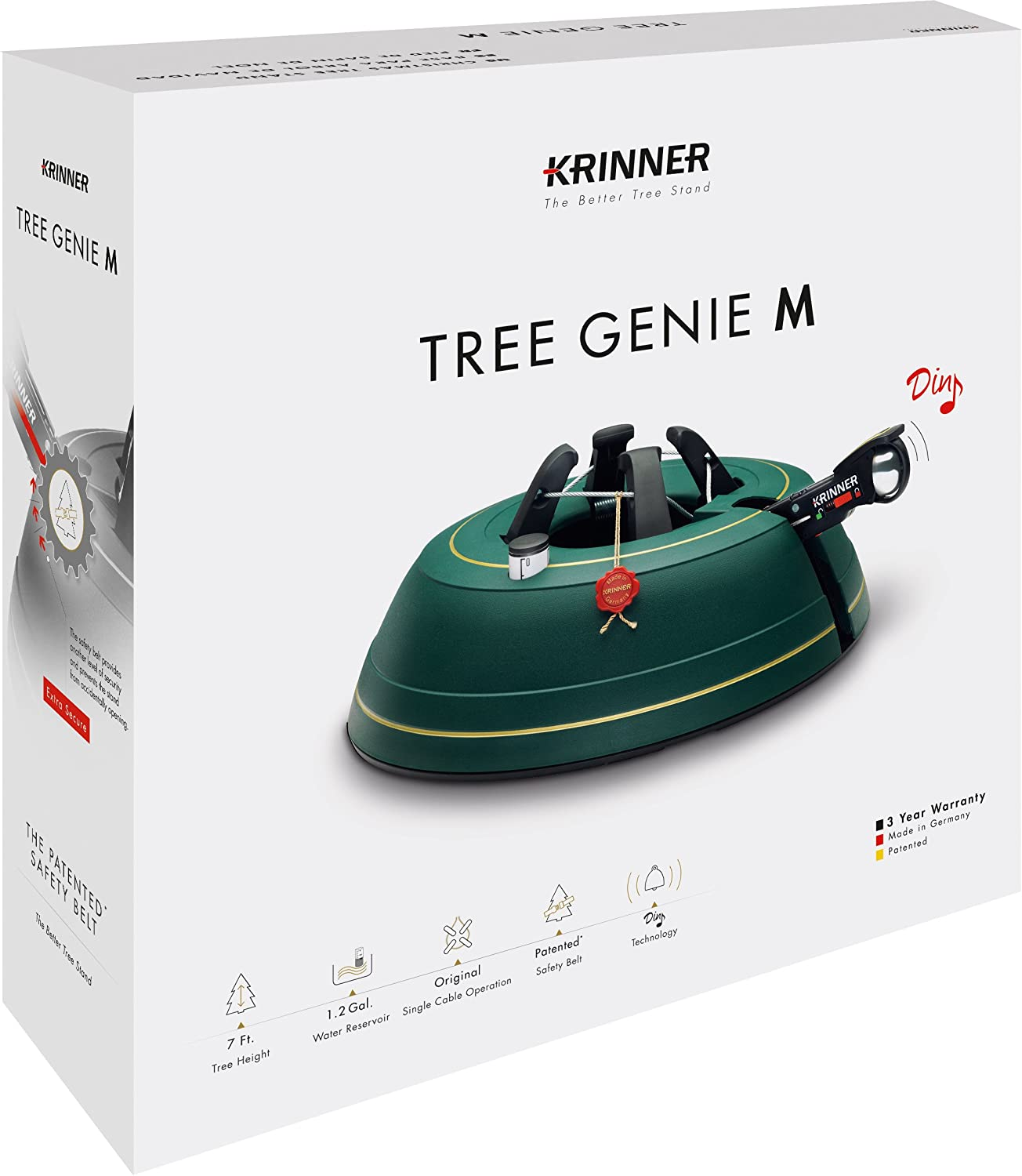 Amazon.com: Krinner Tree Genie M, Christmas Tree Stand with Foot ...