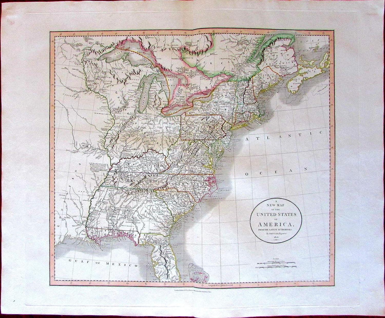 Western Florida Map.Amazon Com United States Florida Louisiana Western