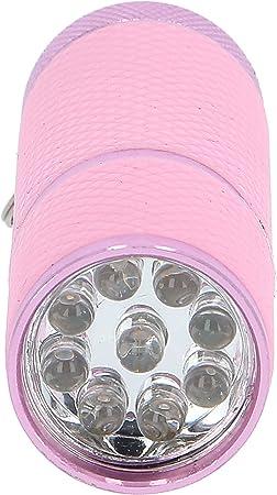 Linterna LED para endurecimiento de u/ñas 99nails color rosa