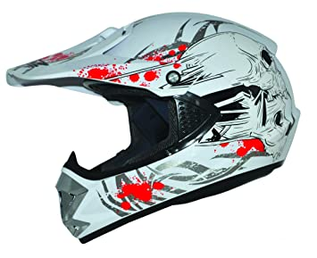 ATO Kids Pro Cross Casco Blanco. Tamaño: XXS a S Casco infantil Cross BMX