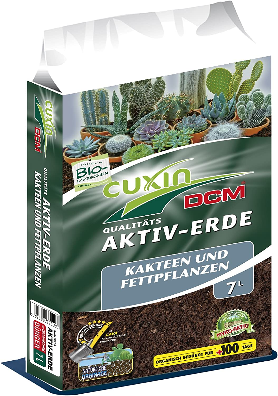 Kakteenerde 25 Liter Kaktuserde Sukkulenten Pflanzerde Erde Kaktus Gartenerde