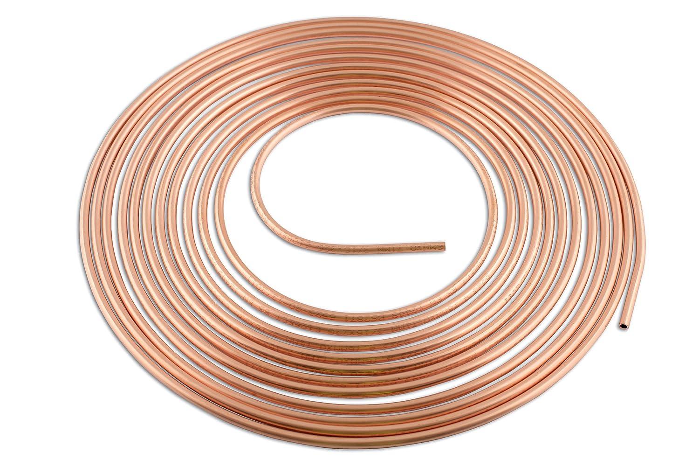 Connect 31135 - Tubo de cobre (4, 8 mm x 7, 6 m) Tool Connection (EU)
