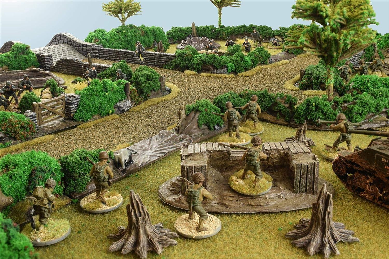 War World Gaming World at War - Sacos terreros - 28mm, WW2, Wargames, Miniaturas, Escenografía, Gran Guerra, Contienda Militar: Amazon.es: Juguetes y juegos