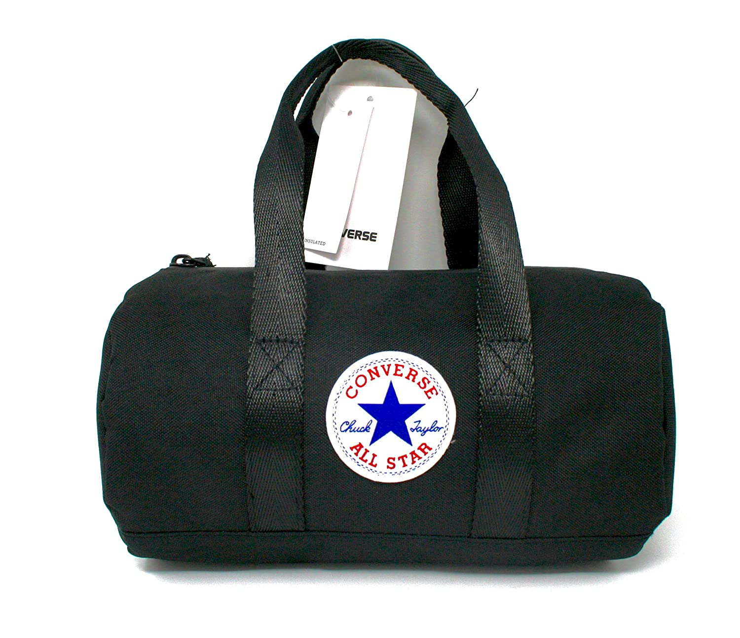 Amazon.com  Converse Chuck Taylor All Star Duffel Tote Lunch Bag (Black)   Kitchen   Dining 0357f00a58581