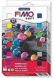 Staedtler Fimo Soft 8023 01 Plastilina. Confezione 12 x 25g. Colori Assortiti