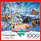 Buffalo Games - Darrell Bush - Woodland Christmas - 1000 Piece Jigsaw Puzzle